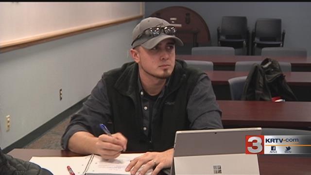 Great Falls College-MSU Spotlight: student Lucas Volkomener