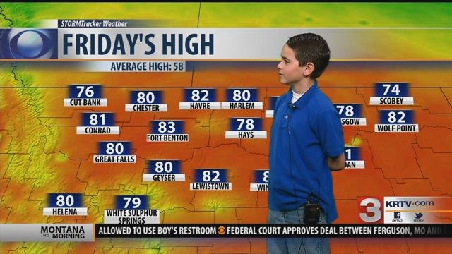 Weather Rookie: Travis Hoomalu