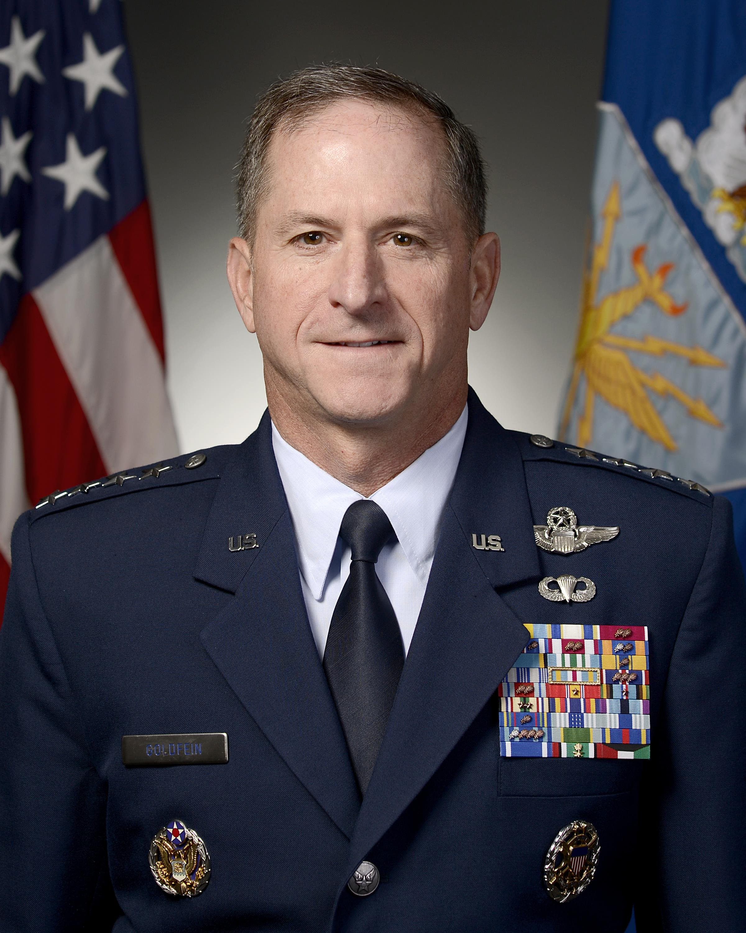 Gen. David L. Goldfein nominated to be the 21st chief of staff of the Air Force.