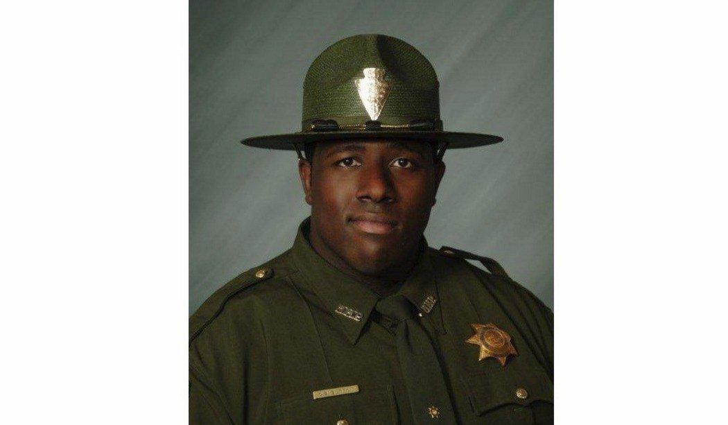 Trooper Charles Burton of the Montana Highway Patrol