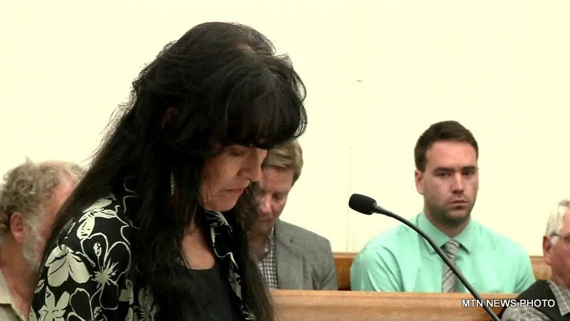 During the hearing, Newman's widow Jackie read a statement to the court
