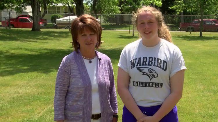 Judy Held and Sierra Heitkamp