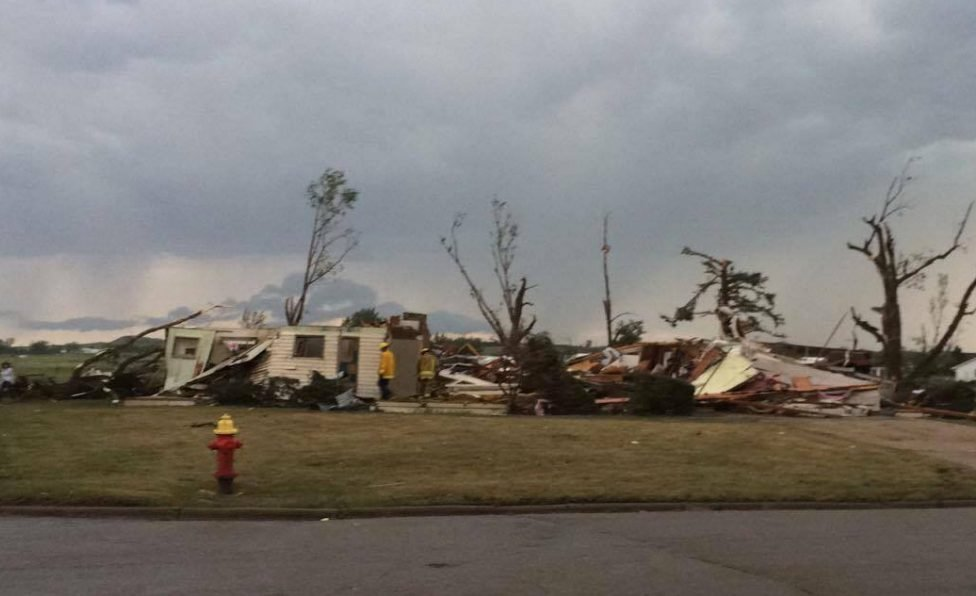 Tornado Damage In Baker (Photo Credit: Tristan O'Neal)