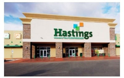 Hastings Entertainment in Chapter 11 bankruptcy