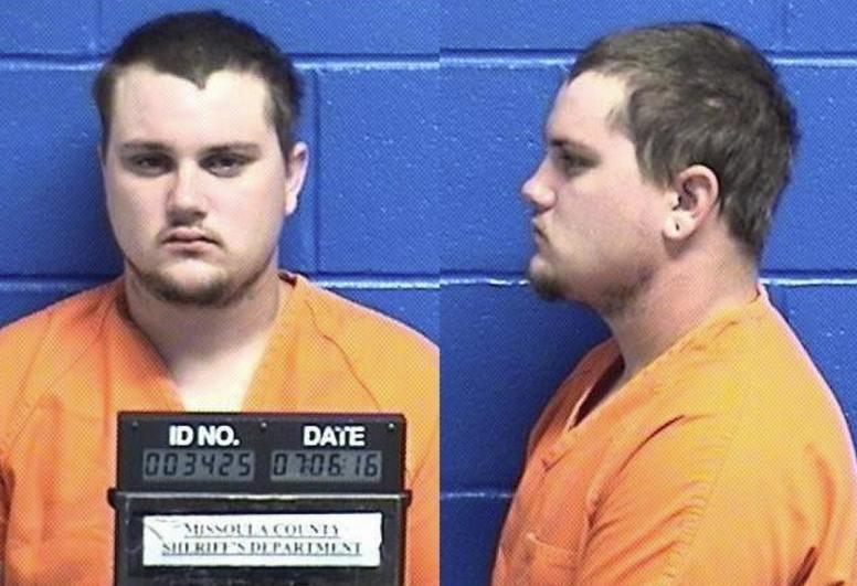 Marc Palmer ofMissoula (Missoula County Detention Center booking photo)
