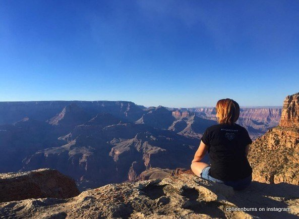 Colleen Burns posted this picture of the Grand Canyon before her death. (Colleen Burns Instagram photo)