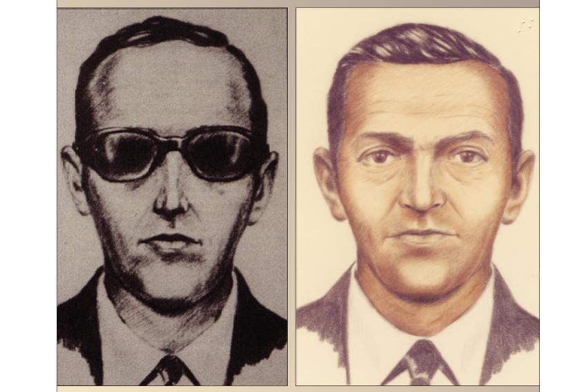 """FBI sketches of """"D.B. Cooper"""""""