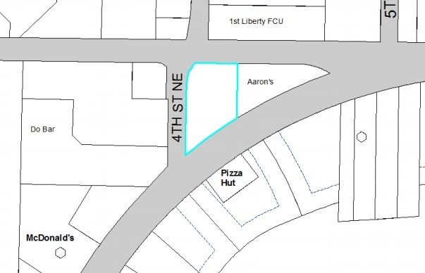 Proposed location of City Brew in Great Falls (Design Review Board proposal)