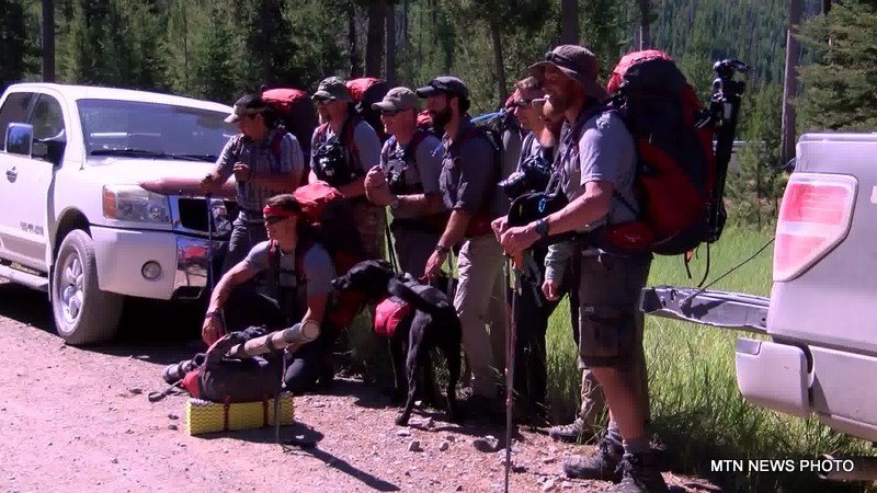Eight members of the Montana Vet Program (MVP) loaded up their hiking gear and headed into the Bob Marshall Wilderness over the weekend.