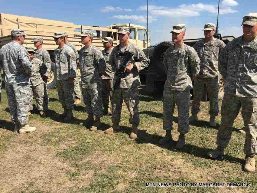 Montana National Guard soldiers continue training in Romania