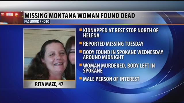 Montana woman found in trunk died from gunshot wound