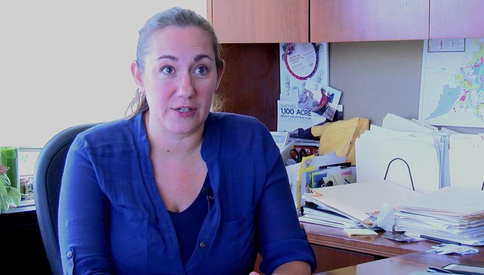 Jolene Schalper of the Great Falls Development Authority