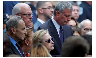 Hillary Clinton cancels West Coast visit after health incident at 9/11 memorial
