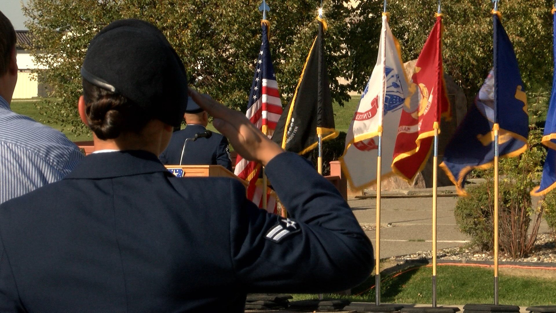 Malmstrom Air Force Base honored Americans in all branches of the armed forces during National POW/MIA Day Friday.