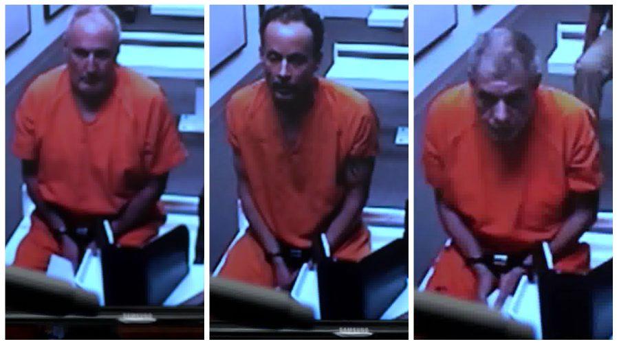 Rodney Lukasik,Brian Murphy, andRobert Hoenjet in court (October 2016)