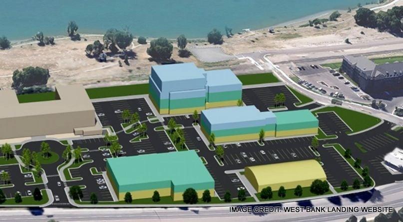 West Bank Landing design plan