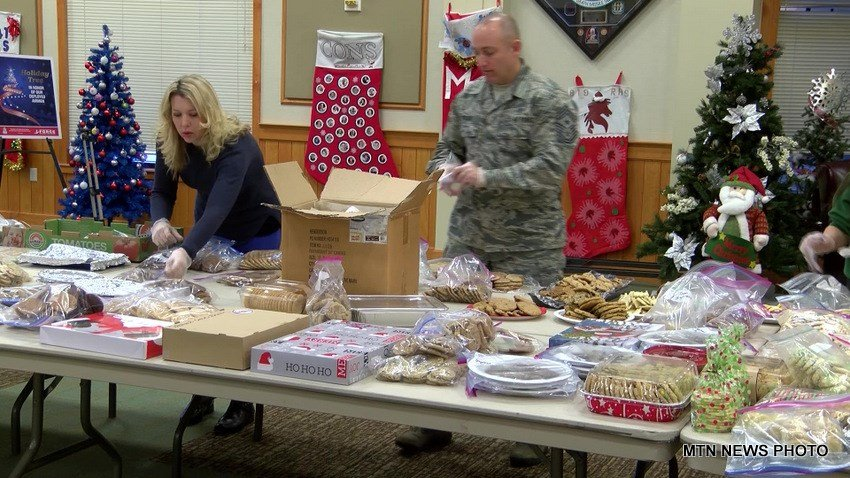 Community members baked more than 13,000 cookies for the annual event.