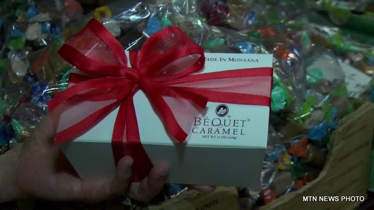 Bequet Confections produces a full ton of caramels each week all year long.