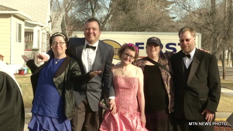 Organizers say they have received donations for everything from limo rides and makeup to tux rentals and dresses.