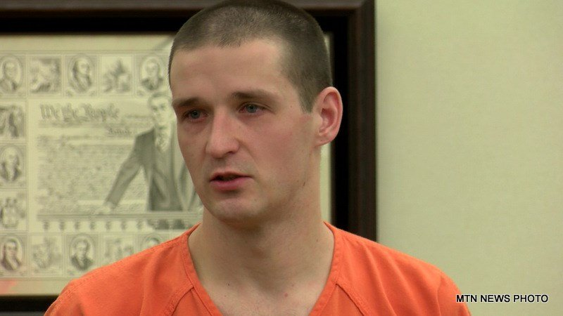 Robert Wittal was sentenced in Flathead County District Court for stabbing and killing35-year-old Wade Rautio