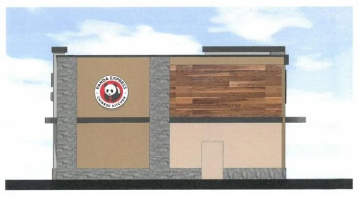 Panda Express plans to open in Great Falls (Image from Planning & Community Development application document)