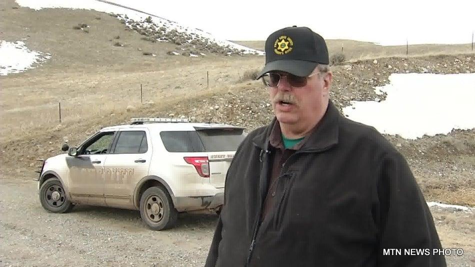 Sweet Grass County Sheriff Dan Tronrud