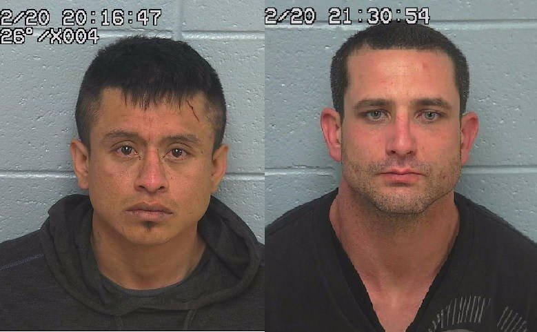Jairo Sebastian Veladiaz and Ronald Andrew Smith are being held at the Sweet Grass County jail.