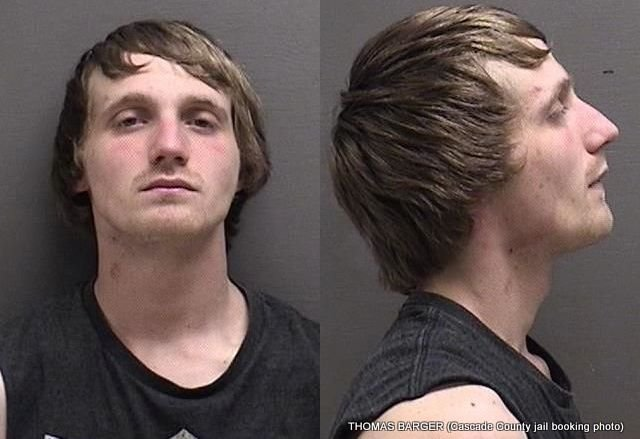 Thomas Logan Barger has been charged with felony theft in Great Falls after he allegedly stole a pickup truck.