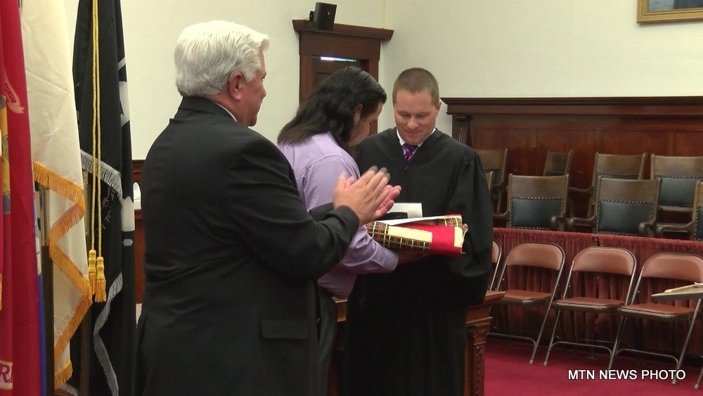The Cascade County Veterans Treatment Court celebrated the graduation of two members in Great Falls on Tuesday