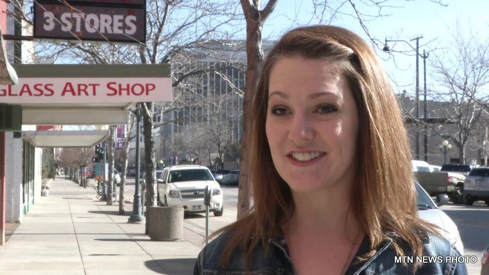 Kellie Pierce, the director of operations for the Downtown Great Falls Association