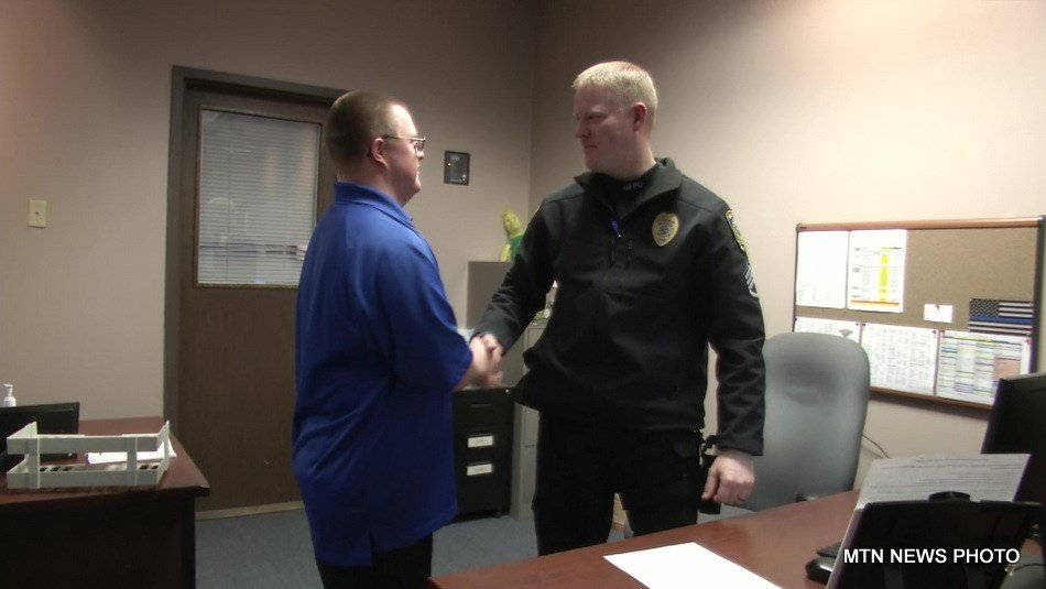 """""""I'm involved in Special Olympics, Farm in the Dell, and all the awareness for the (Special Olympics Law Enforcement) Torch Run, and volunteer down here at the police station, I've done that for many years,"""" said Jamie."""
