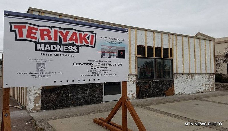Teriyaki Madness plans to open in Great Falls on April 1st