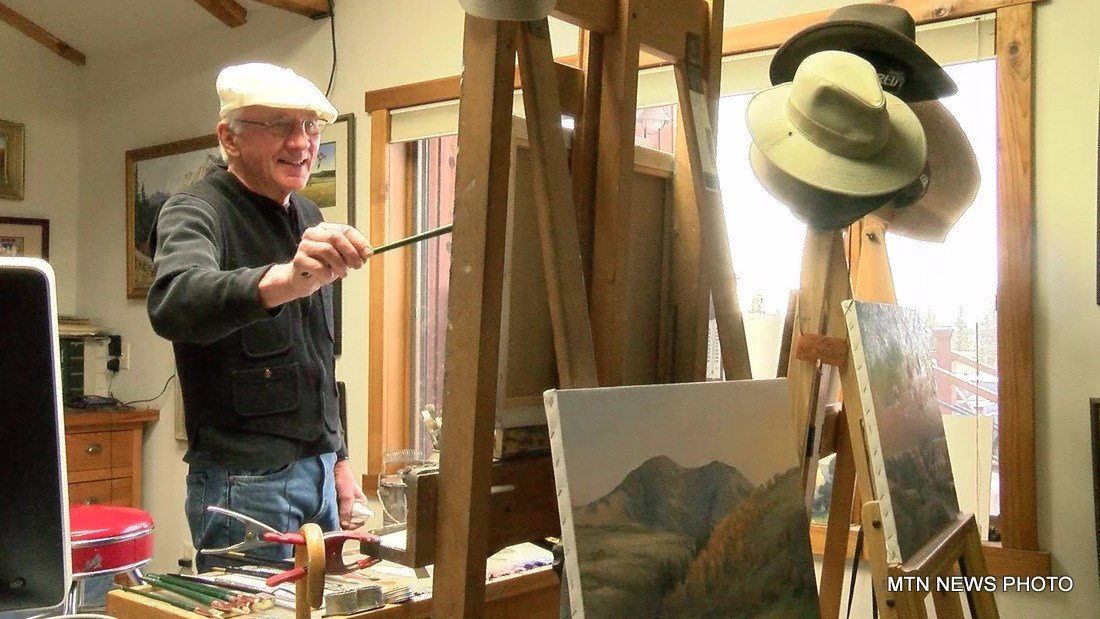 Jeff Walker grew up in Great Falls, so painting north-central Montana landscapes and wildlife comes naturally.