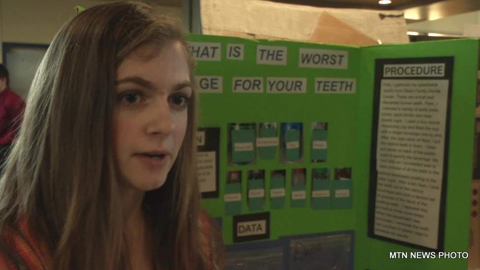 Carlee Morris, an 8th-grade student from Moore