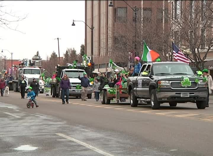 File photo of 2015 St. Patrick's Day parade in downtown Great Falls
