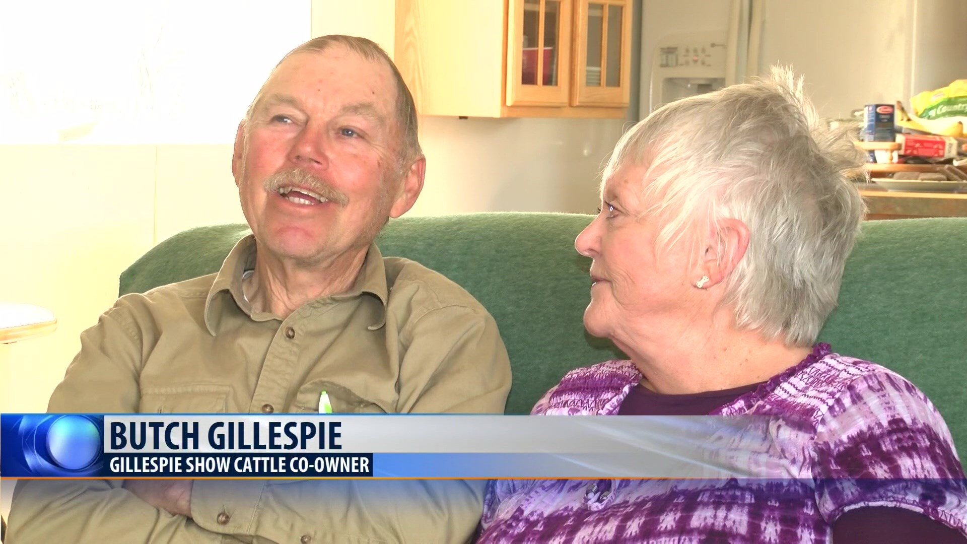 Butch andDoreen Gillespie, owners of Gillespie Show Cattle, have been cattle ranching on 'Revolution Ranch' near Kevin for 40 years.