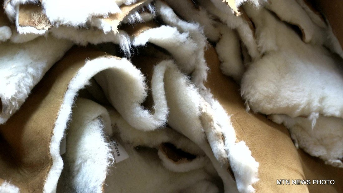 For more than 40 years, Thomas has been turning sheepskin into a variety of types of clothing and outerwear.