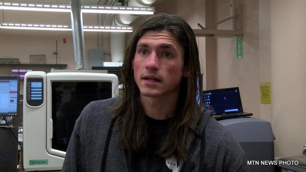 Nick VanHelden is one of the students.