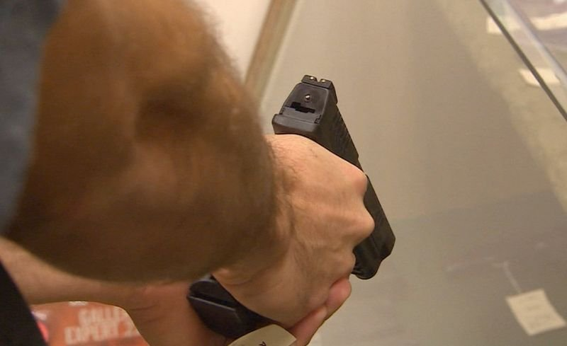 More than 9,200 firearms were stolen from federally licensed dealers last year, according to a new report from the Bureau of Alcohol, Tobacco, Firearms and Explosives. (CNN photo)