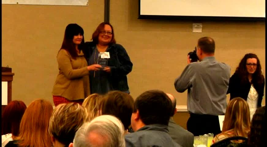 Dozens of Montanans were recognized Tuesday for their efforts to support children and families.