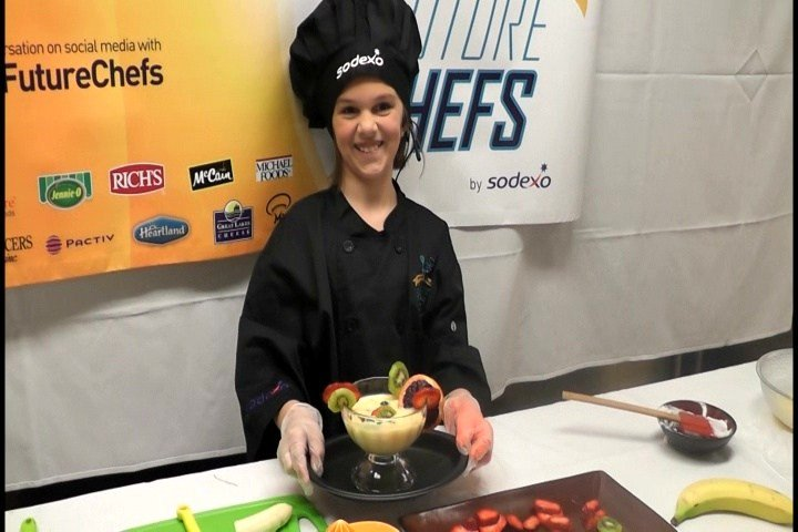 Greydyn Gildroy was chosen along with four others from across the country to compete in the Future Chefs Challenge.