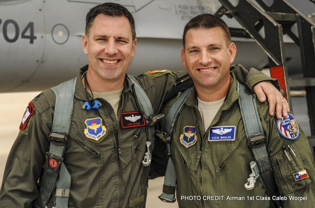 Brothers In Arms: Lt. Col. Mark Whisler and Lt. Col. Steve Whisler