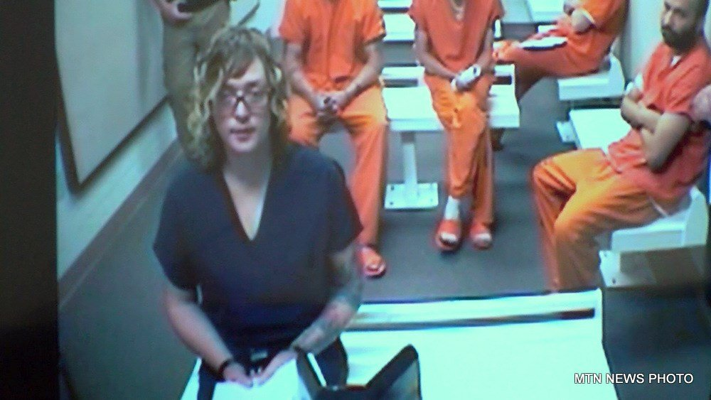 Linda Christianson in court on May 25, 2017