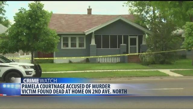 Officers were called to a house on 2nd Avenue North on May 26th after the body of a 69-year old woman was found.