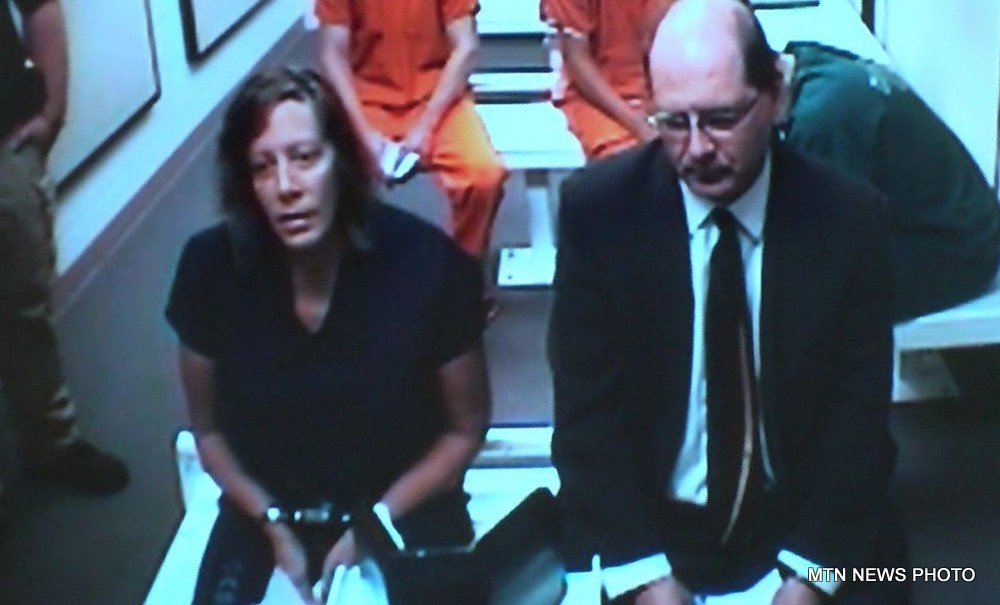 Pamela Jean Courtnage pleaded not guilty in Great Falls on Thursday on charges of deliberate homicide and felony theft.