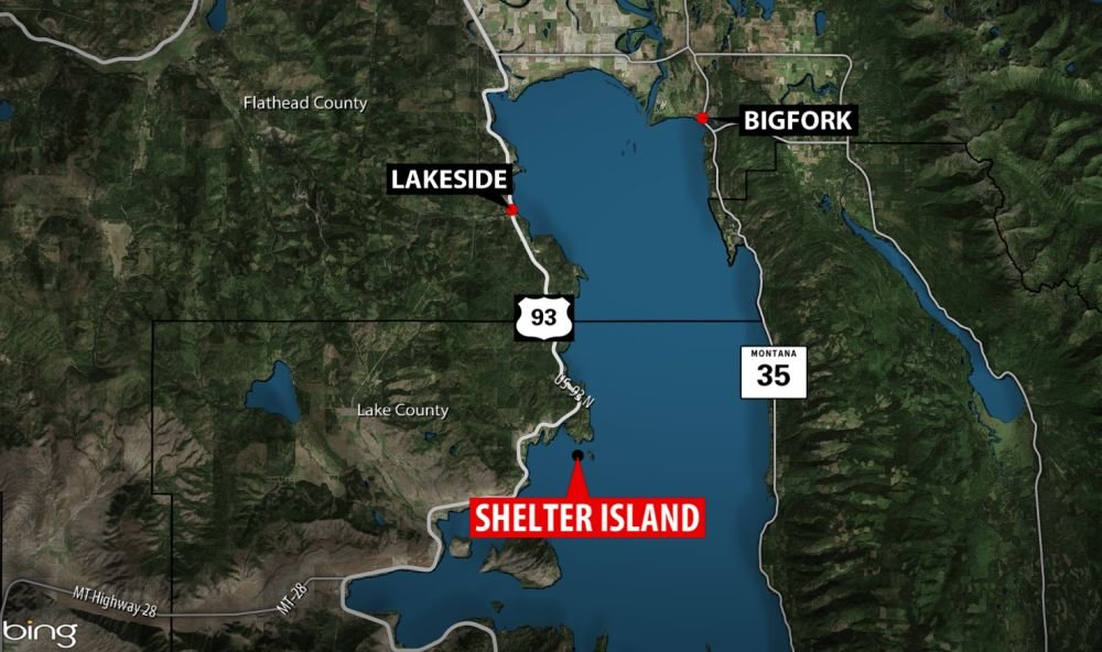Authorities: 14 people go to hospital after deck collapse near Flathead Lake