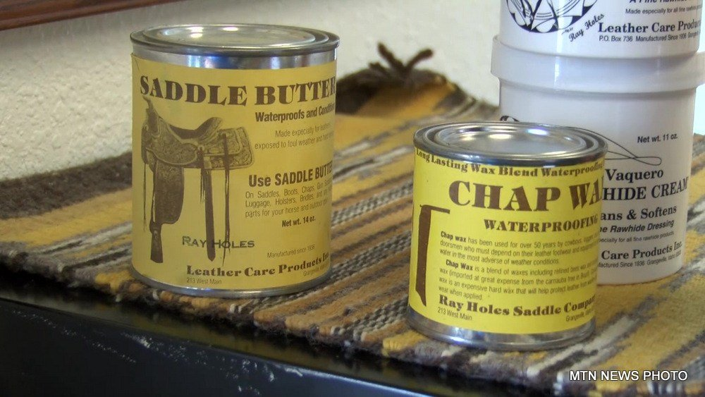 Montana Made: Ray Holes Leather Care Products