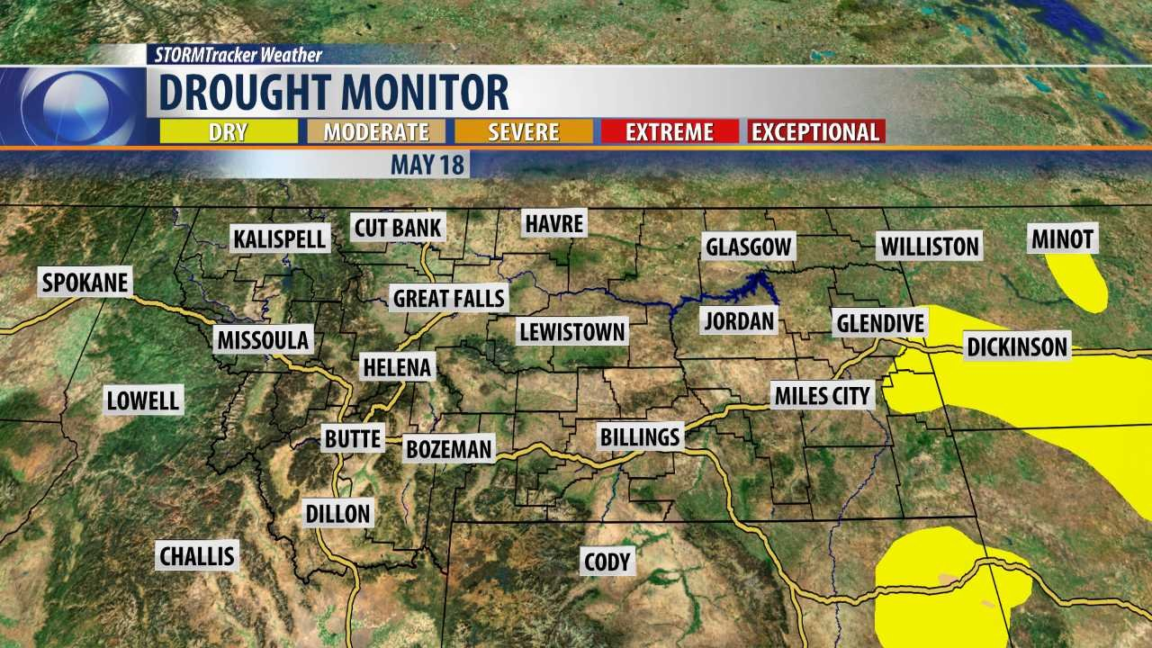 Drought conditions worsen in South Dakota from last week