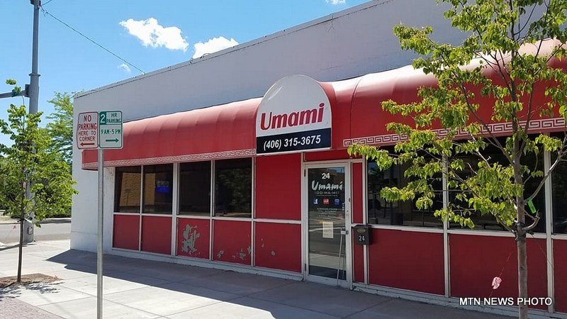 Umami restaurant in downtown Great Falls