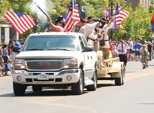 Independence Day parade in Great Falls (MTN News file photo, 2015)